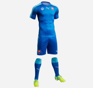 Slovaquie Euro 2016 maillot exterieur