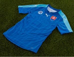 Slovaquie Euro 2016 maillot exterieur officiel