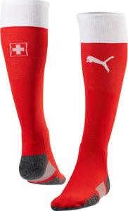Suisse Euro 2016 chaussettes domicile foot