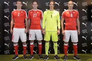 Suisse Euro 2016 maillot domicile et gardien