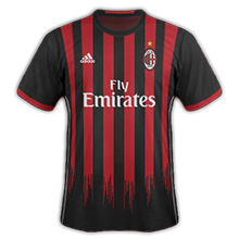 AC Milan 2017 maillot domicile football