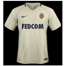 AS Monaco 2017 maillot exterieur 2016 2017 Nike