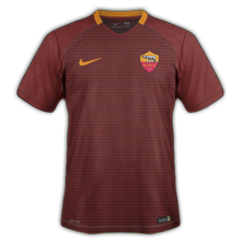 AS Rome 2017 maillot domicile football Nike