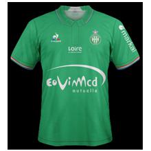 ASSE 2017 maillot domicile 16-17