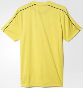 Arbitre Euro 2016 maillot jaune dos