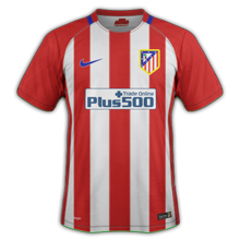 Atletico Madrid 2017 maillot de foot domicile 16-17
