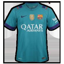 Fc barcelone 2017 les maillots de foot 2016 2017 for Maillot exterieur barca