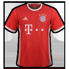 SKEL HORROR SHOW 6 ETOILES SUR LE MAILLOT Bayern-Munich-2017-maillot-foot-domicile