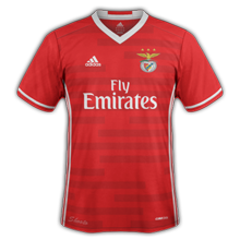 Benfica 2017 maillot de foot domicile 16-17
