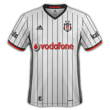 Besiktas 2017 maillot domicile football 2016 2017