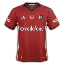 Besiktas 2017 maillot third foot 16-17