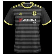 Chelsea 2017 maillot exterieur foot 15-16