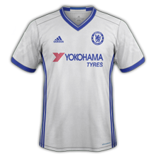 Chelsea 2017 maillot third football 15-16