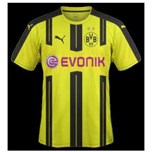 Dortmund 2017 maillot foot domicile 2016 2017
