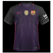 FC Barcelone 2017 maillot extérieur foot 2016 2017