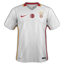 Galatasaray 2017 maillot exterieur 16-17 foot