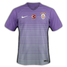 Galatasaray 2017 maillot foot third 16-17