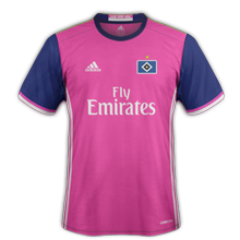 Hambourg 2017 maillot exterieur foot