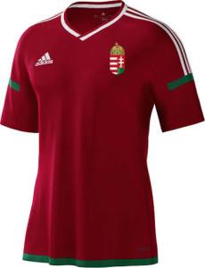 Hongrie Euro 2016 maillot domicile officiel Adidas