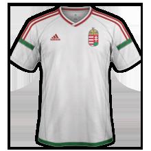 Hongrie Euro 2016 maillot exterieur officiel