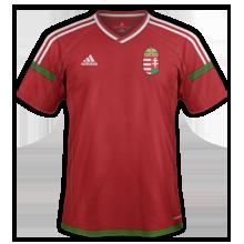 Hongrie Euro 2016 maillot domicile foot