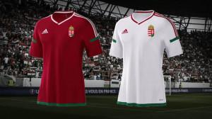 Hongrie Euro 2016 maillots de football