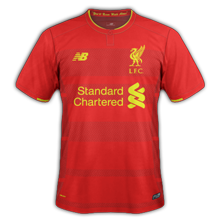 Liverpool 2017 maillot domicile football 16-17