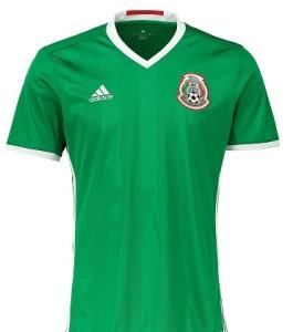 Mexique 2016 Copa America Centenario maillot domicile Adidas