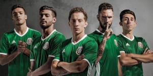 Mexique 2016 Copa America Centenario maillot officiel domicile Adidas