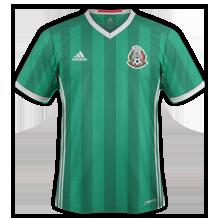 Mexique 2016 maillot domicile Copa America 2016