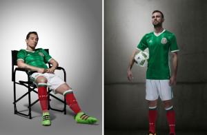 Mexique Copa America 2016 tenue foot domicile