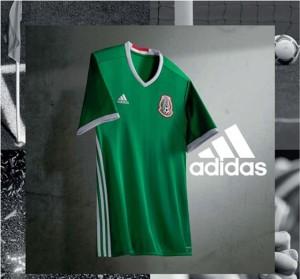 Mexique Copa America Centenario 2016 maillot domicile Adidas
