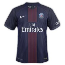 PSG 2017 maillot domicile 16-17 Nike