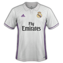 Real Madrid 2017 maillot domicile