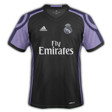 Real Madrid 2017 troisieme maillot third foot 2016 2017