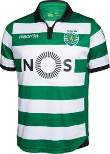 Sporting 2017 maillot de foot domicile 2016 2017