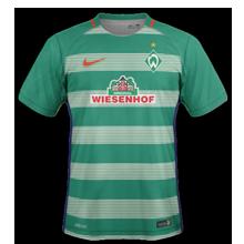 Werder Breme 2017 maillot domicile foot