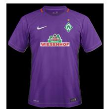Werder Breme 2017 maillot exterieur football