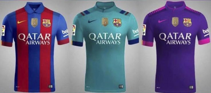 les maillots de football FC Barcelone 2016 2017
