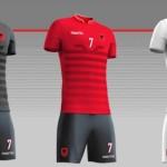 Albanie 2016 les maillots de foot Euro 2016