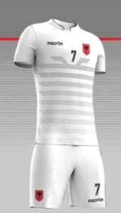 Albanie 2016 maillot exterieur Euro 2016