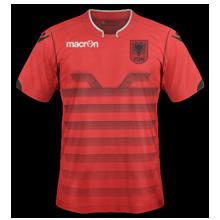 Albanie Euro 2016 maillot domicile