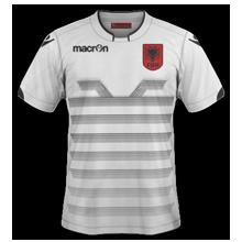 Albanie Euro 2016 maillot exterieur