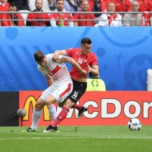 Albanie Suisse maillot Euro 2016