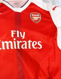 Arsenal 2016 maillot domicile football