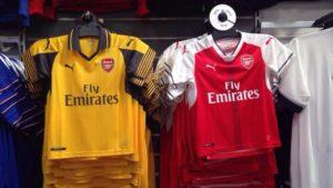 Arsenal 2017 les maillots de foot 2016 2017 par Puma