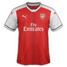 Arsenal 2017 maillot football domicile 2016 2017