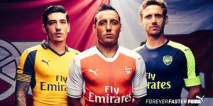 Arsenal 2017 maillots de foot 2016-2017 Puma