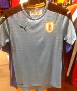 Uruguay 2016 maillot foot domicile Copa America 2016