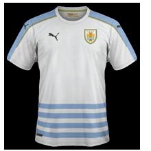 Uruguay Copa America 2016 Centenario maillot exterieur